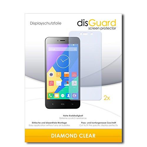 2 x disGuard® Bildschirmschutzfolie Phicomm Energy L Schutzfolie Folie