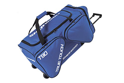 Sherwood True Touch T 90 Ice Hockey Wheel Bag, Unisex, Eishockeytasche True Touch T 90 Wheel Bag, blue, 100 x 50 x 46 cm, 230 Liter