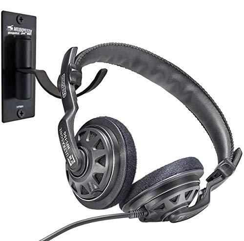 Ultrasone HFI-15G dynamischer Kopfhörer Offen schwarz + keepdrum Wandhalter thumbnail