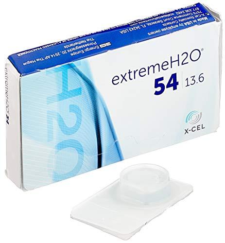 extreme H2O 54% Monatslinsen weich, 6 Stück / BC 8.60 mm / DIA 14.20 mm / -1.75 Dioptrien