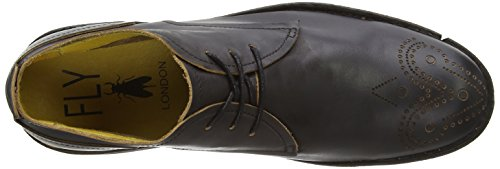 Fly London  SOAR, Derbies à lacets homme Noir (Black)