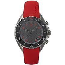 e62ae1b0c0ff Nautica Reloj Cronógrafo para Hombre de Cuarzo con Correa en Silicona  NAPNWP004