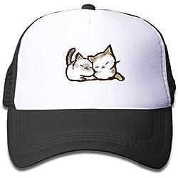 Kawaii Cat Trucker Children's Mesh Hat Cap