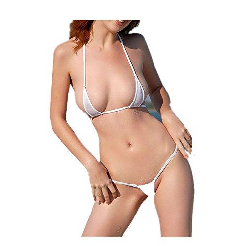 b814b349ac27 HNJZX Donna Costume da bagno micro bikini Sexy Donna sfoderata Bikini mini  perizoma (5pcs)