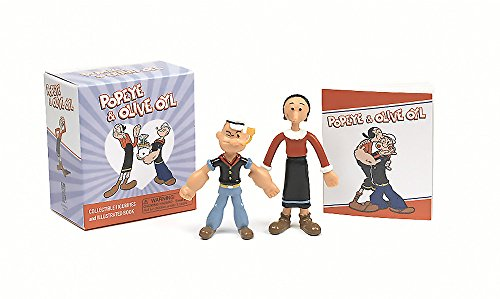 Popeye and Olive Oyl: Collectible Figurines and Illustrated Book (Miniature Editions) por Running Press