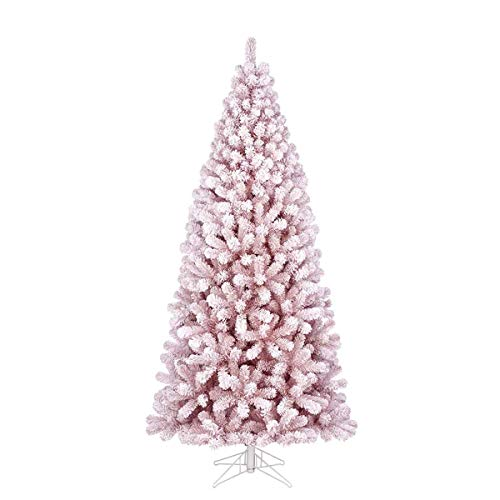 Black Box Trees Cembra Weihnachtsbaum rosa Frosted Tips 1247 - h230xd107cm -