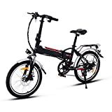 Speedrid Elektrofahrrad 20Zoll Zoll E- Bike