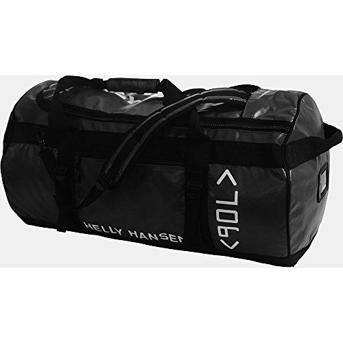 Helly Hansen Mens Classic Duffel 90 Litre Travel Duffle Bag Black