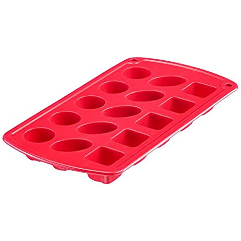 Westmark 30202260 Classic Moule à pralines Silicone Rouge 12 x 22 x 1,9 cm