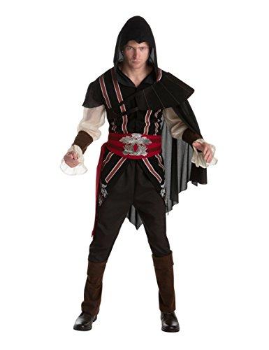 Ezio Assassins Creed Kostüm für Erwachsene Einheitsgröße