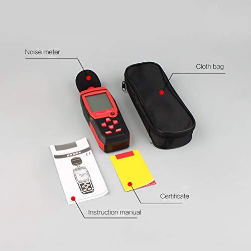 DF-ES Medidores Nivel Sonido Digital 30~130dB Medidor
