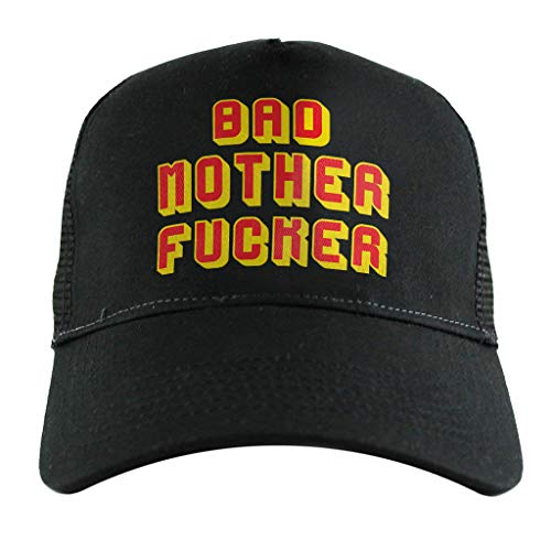 Pulp Kostüm Jules Fiction - Cloud City 7 Bad Mother Fucker Pulp Fiction Jules Wallet, Trucker Cap