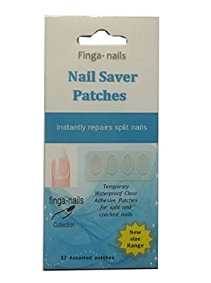 1 x 32 Nail Save Patches ~ Temporary protection for split & cracked nails