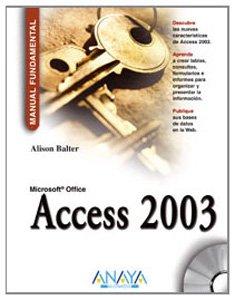 Access 2003 (Manuales Fundamentales)