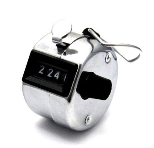 Handzähler Zähler Zählwerk Schrittzähler aus Metall mechanisch