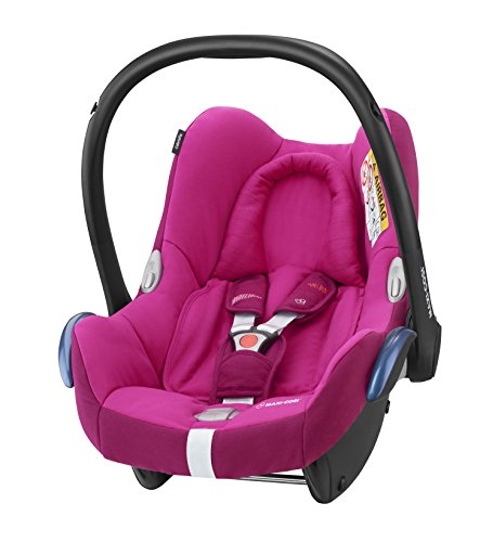 Maxi-Cosi CabrioFix Babyschale Gruppe 0+ (0-13 kg), frequency pink, rosa, ohne Isofix-Station