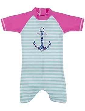 Baby Banz Shorty di Natación Termico ANTI-UV Manga Corta Niño - Niña