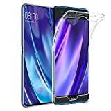 Qoosea Vivo Nex 2 Hülle Transparent Ultra Slim Crystal Clear Handyhülle Soft Flex Silikon Anti-Rutsch Kratzfest Case Cover
