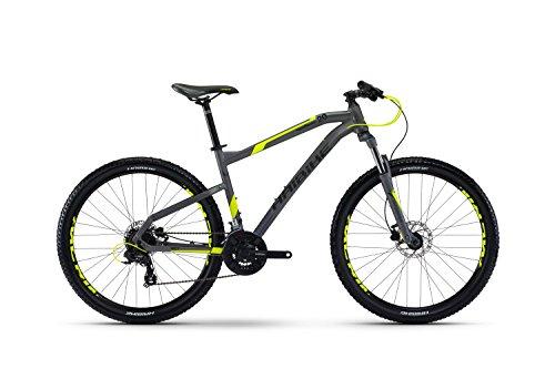Hai Bike seet hardseven 2.027.5r Mountain Bike 2017, Titan/Gelb/Schwarz matt, 45 cm