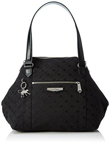 kipling-art-s-borsa-con-maniglia-donna-nero-ref33w-diamond-black-44x27x18-cm-b-x-h-x-t