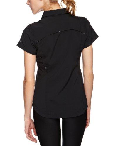Columbia Silver Ridge Chemise manches courtes Femme Noir