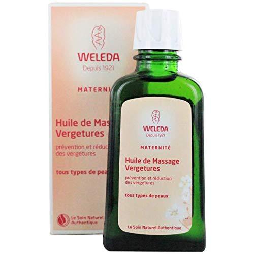 Weleda Maternité Huile de Massage Vergetures 100 ml