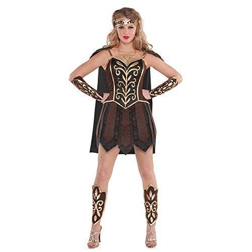Prinzessin Damenkostüm Römischer Gladiator Kostüm Outfit - Klein (Römische Kriegerin Kostüm)