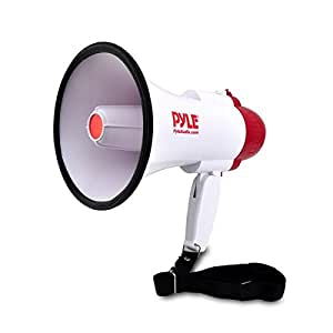 Pyle-Pro PMP30 30W Professional Megaphone/Bullhorn with Siren