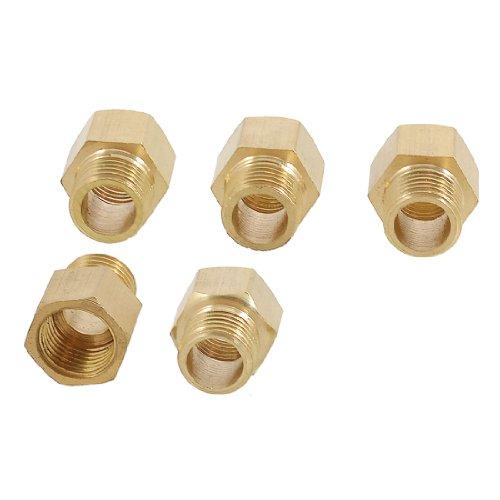 Adapter 1/4 Rohr (sourcingmap® 5 x 1/4
