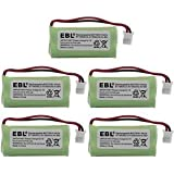 5 Pack Of RCA VISYS 25210 Battery - Replacement For RCA Cordless Phone Battery (800mAh