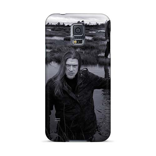 Samsung Galaxy S5 Rok8137uhZO Support Personal Customs HD Kalmah Band Image Protector Hard Phone Covers -JasonPelletier