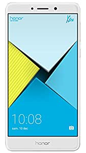Honor 6X Smartphone 4G LTE, Diplay 5.5 pollici FHD, 32 GB ROM, 3 GB RAM, Dual Camera 12 Megapixel, Sensore Fingerprint, Android, Argento