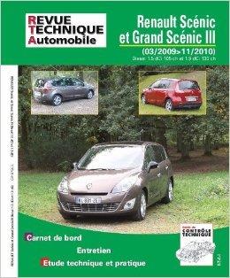 Revue Technique B756 Scenic III : 1.5dci 105ch, 1.9dci 130 ch de Revue technique automobile ( 1 janvier 2012 )