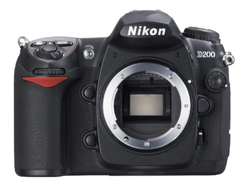 Nikon D200 SLR-Digitalkamera (10 Megapixel) nur Gehäuse