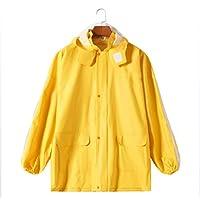ZWW Raincoat, Thick, Waterproof, Reflective Raincoat, Knight Suit, Overalls