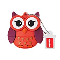 Garrulax USB Flash Drives, 8GB / 16GB / 32GB Premium Waterproof Silicone Cute Cartoon High Speed USB 2.0 Data Storage Drive Memory Stick Flash Pen Disk Pendrive