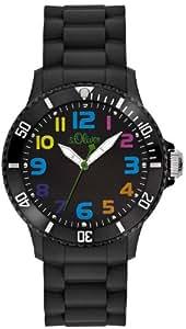 s.Oliver Unisex-Armbanduhr Analog Quarz Silikon SO-2427-PQ