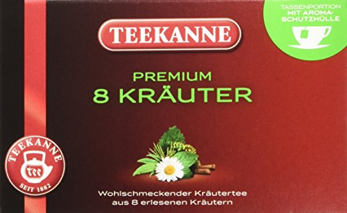 Teekanne Premium Kräuter 20 Beutel, 5 er Pack