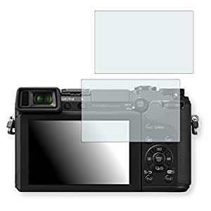 2x Golebo Crystal Clear screen protector for Panasonic Lumix DMC-GX7 - (Transparent screen protector, Air pocket free application, Easy to remove)