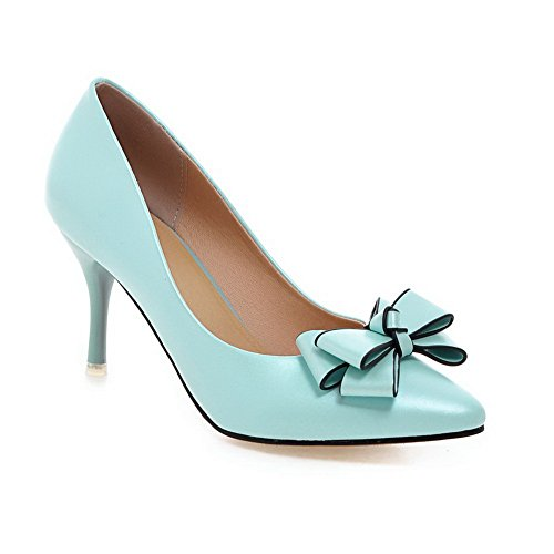 Adee , Damen Pumps Blau