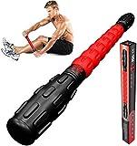 Physix Gear Sport Muscle Roller Stick & eBook per gamba Cramps massaggio più profondo & fisioterapia fianchi, cosce, polpacci gambe Back Pain Relief-più rulli in poliur