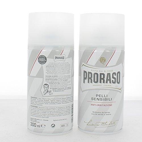 Proraso Mousse à Raser pour Peaux Sensibles 300 ml