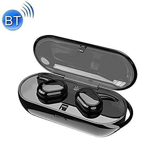 tomaxx Bluetooth Headset TWS Kopfhörer 4.2 PowerBank Kompatibel mit iPhone 6 6 Plus XR XS X 8 8 Plus 7 7 Plus, Samsung Galaxy S8 S9 S10, Motorola G7, Nokia 9, Huawei P30 (Schwarz)