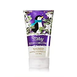Bath & Body Works Sparkling Snowflake Scrub Merry Berry Christmas 8oz