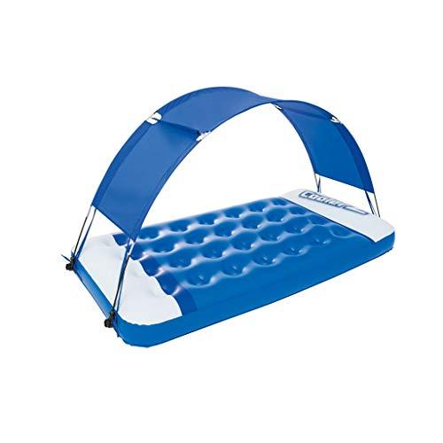 Schwimmende Reihe Aufblasbare Wassermatratze von Bestway/Schwimmring for Erwachsene Markise/Verdickender Liegestuhl for Kinder (Color : A)