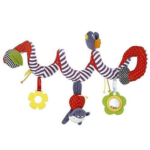 b4a76f5f029b Jouets de Lit en Spirale Mobile Suspendu Jouets de Bébé Apprenant  L éducation Eveil Cadeau