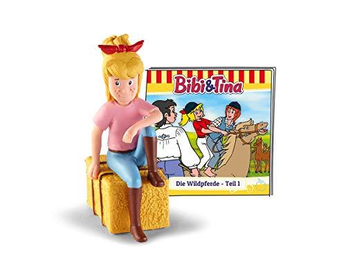 tonies 01-0036 Bibi und Tina - Die Wildpferde - Teil 1 Hörfigur, Bunt Tin