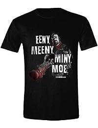 The Walking Dead - Eeny, Meeny Hombres Camiseta - Negro - Tamaño Medium