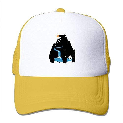AOHOT Herren Damen Baseball Caps,Hüte, Mützen, Classic Baseball Cap, Mountain Bear Youth Cap-Classic Dad (Spiel Einhorn U Wii)