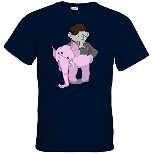 getshirts - Daedalic Official Merchandise - T-Shirt - Deponia Kugo Navy